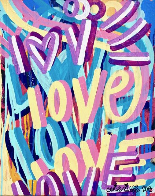 , 'Love Canvas 4,' 2018, Open Mind Art Space