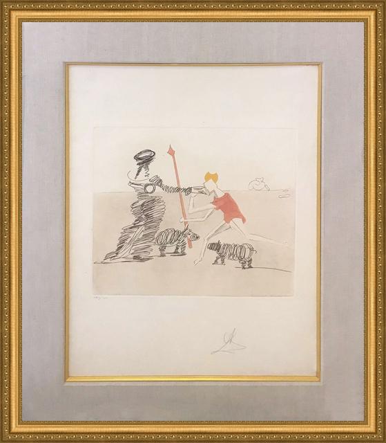 Salvador Dalí, 'PASTORALE', 1981, Print, ETCHING & AQUATINT IN COLORS, Gallery Art