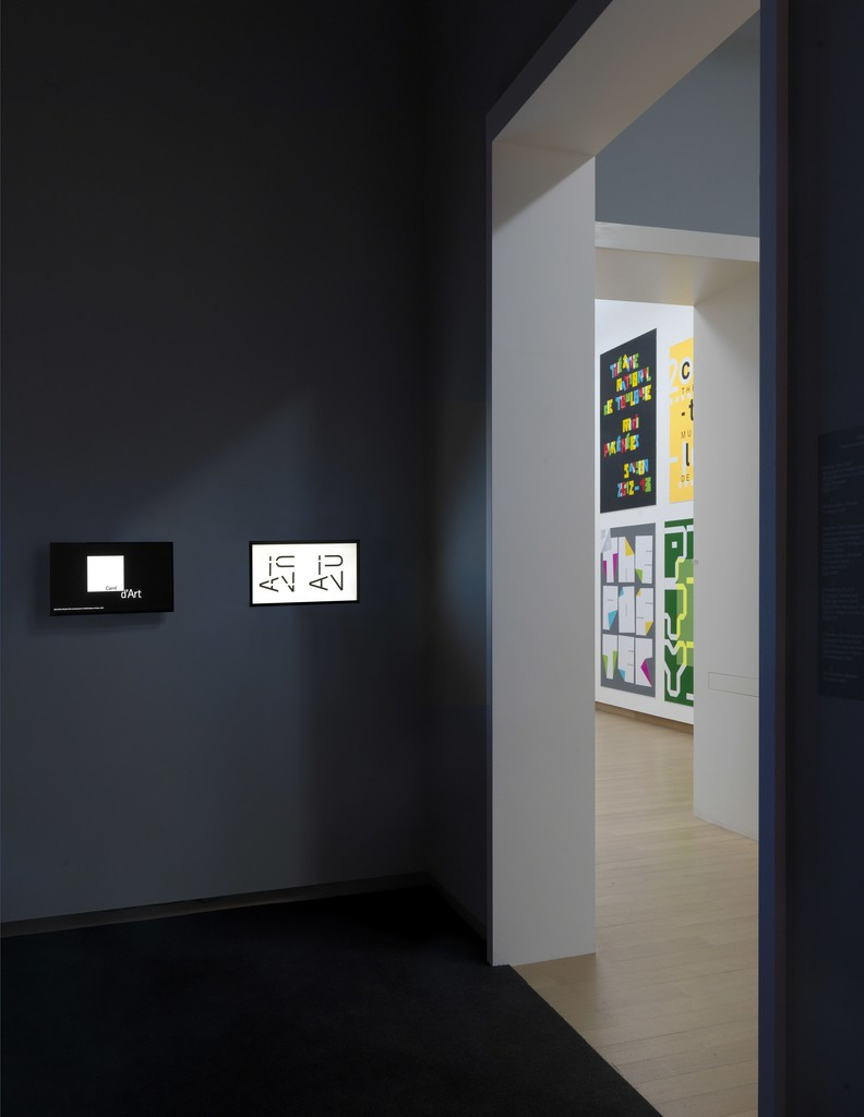 Philippe Apeloig: Using Type. Installation view. Photo: Gert-Jan van Rooij