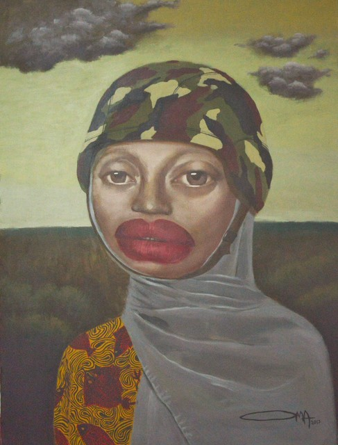 , 'Aisha - Empowered without Love Series,' 2017, Red Door Gallery