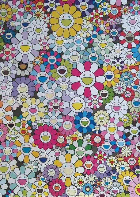 Takashi Murakami, 'An Homage to Yves Klein Multicolor, 1960 D', 2012, Georgetown Frame Shoppe
