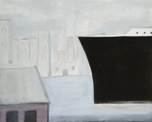 , 'Queen Mary In Fog,' 2014, Tayloe Piggott Gallery