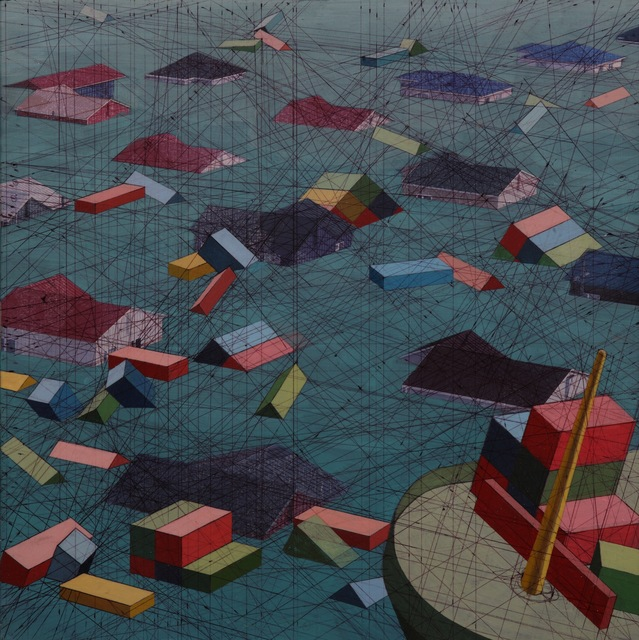 Mary Iverson, 'Settlement', 2014, Coleccion SOLO