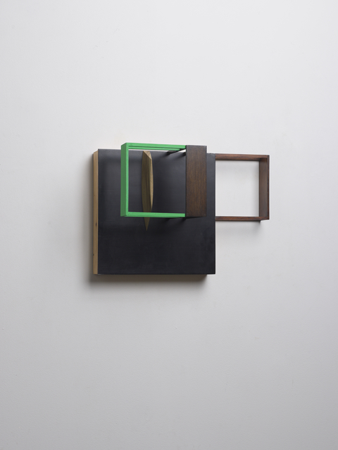 , 'Untitled (With Black & Green) B,' 2014, Kristof De Clercq