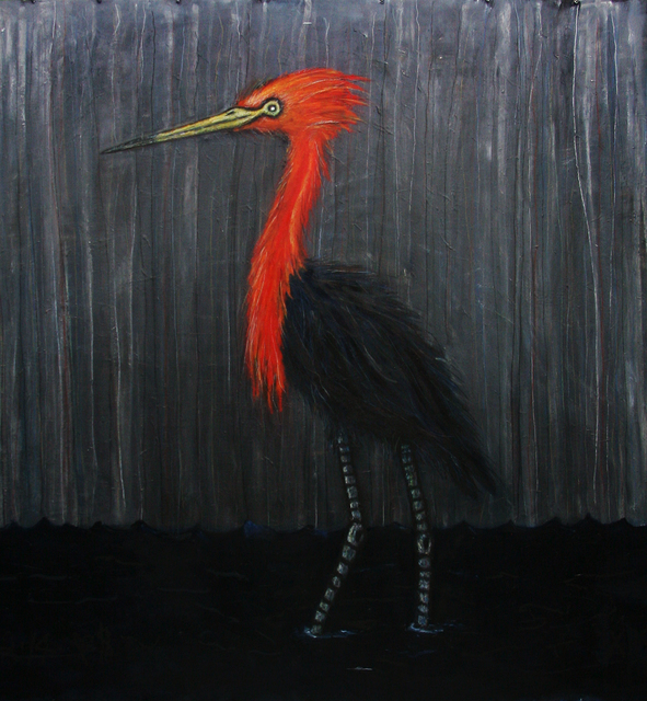 , 'Reddish Egret,' , William Campbell Contemporary Art, Inc.