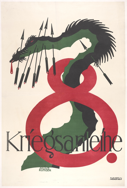 , '8. Kriegsanleihe (8 War Loan),' 1918, de Young Museum