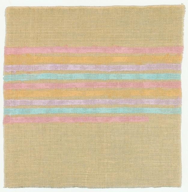 , 'Linee orizzontali,' 1975, Luca Tommasi