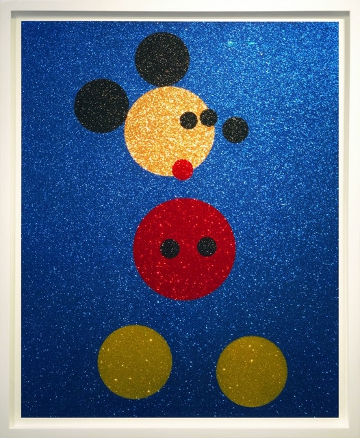 Damien Hirst, 'Mickey (with glitter)', ca. 2016, Arton Contemporary
