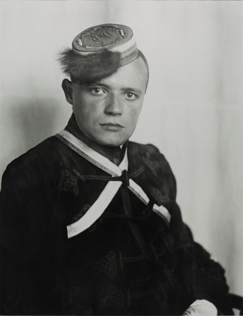 August Sander, 'Fraternity Student, 1925', Galerie Julian Sander