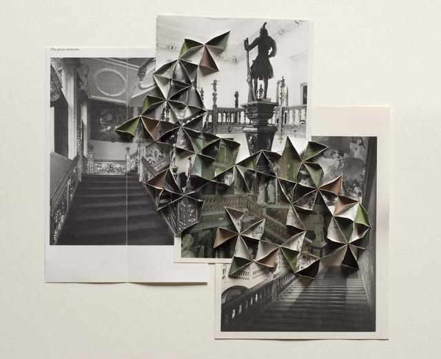 , 'The great stair,' 2009, Raum mit Licht