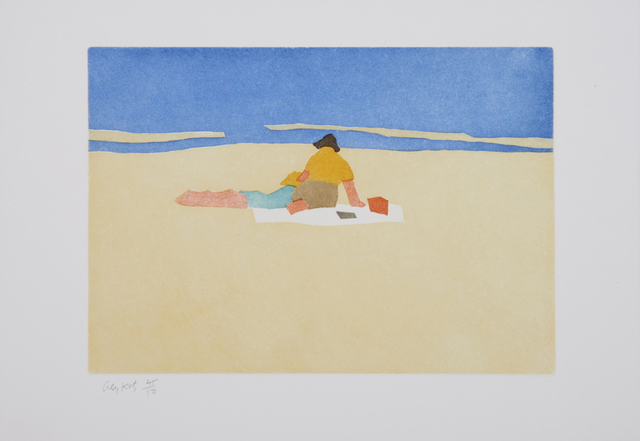 Alex Katz, 'Figures on The Beach (Small Cuts)', 2008, Weng Contemporary