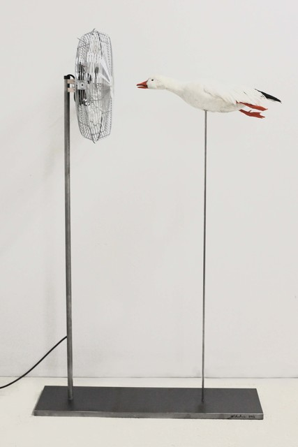 , 'Duck Fan,' 2013, Cristina Grajales Gallery