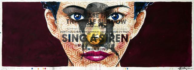 , 'Sing a Siren,' 2018, Galerie LeRoyer