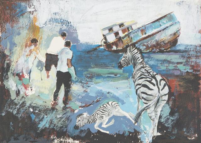", '""KİMSE GÖRMESİN DİYE"" // ""LEST ANYONE SHALL SEE"",' 2013, Art Next Istanbul"