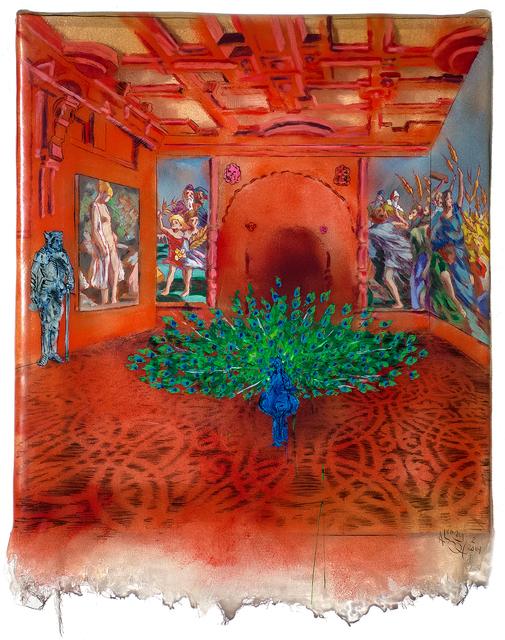 , 'Peacock Room,' 2014, Gallery Victor Armendariz