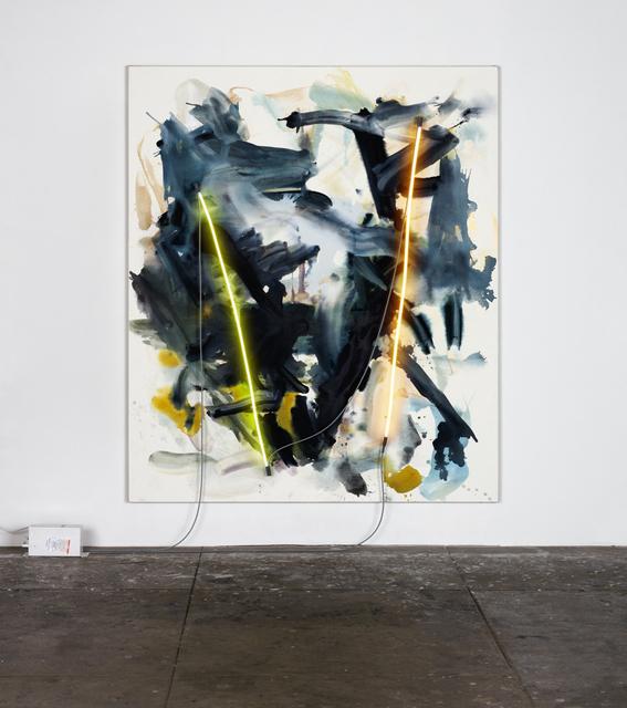 , 'yucca blooms,' 2015, David Kordansky Gallery