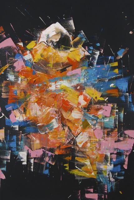 ", '""astronaut study"" ,' 2017, Mugello Gallery"
