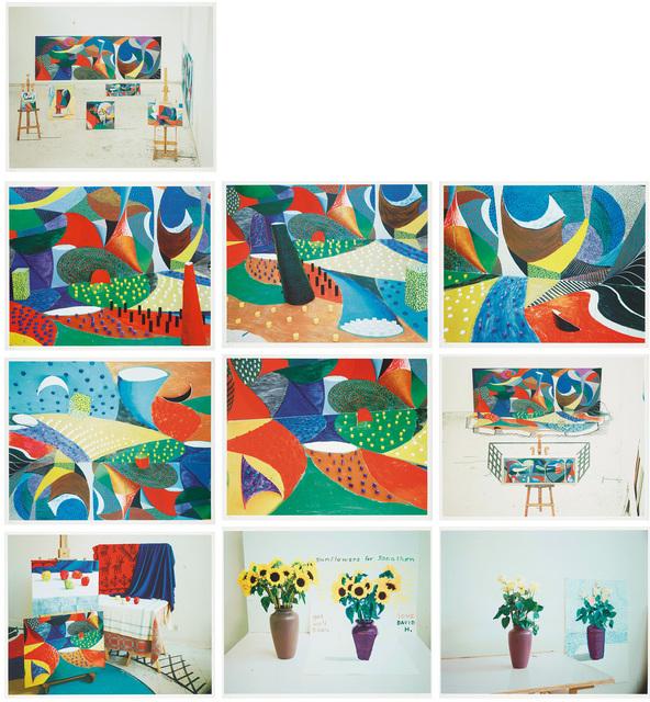 David Hockney, 'Snails Space', 1995, Phillips