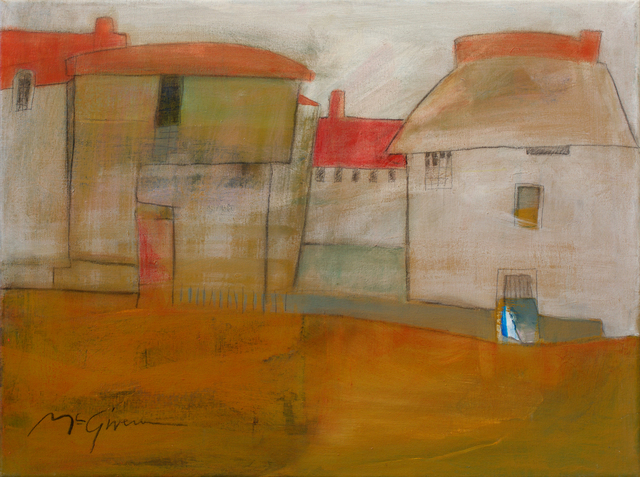 , 'Red Roofs 2,' , Abend Gallery