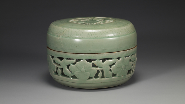 , 'Celadon Box,' Goryeo Dynasty-12th century, Leeum, Samsung Museum of Art