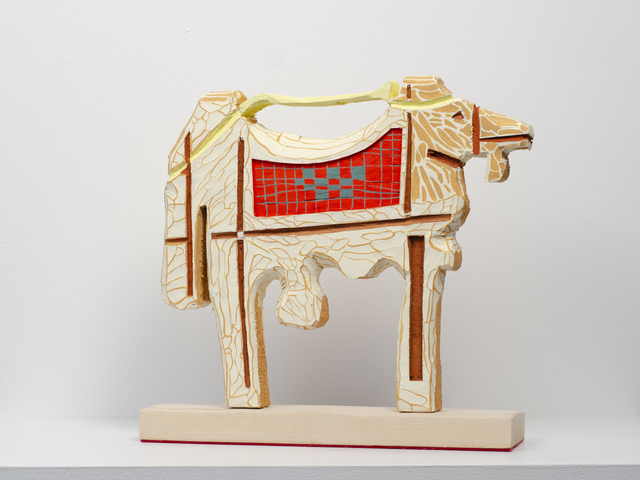 Lisi Raskin, 'Camel (for James Castle)', 2019, Fleisher/Ollman