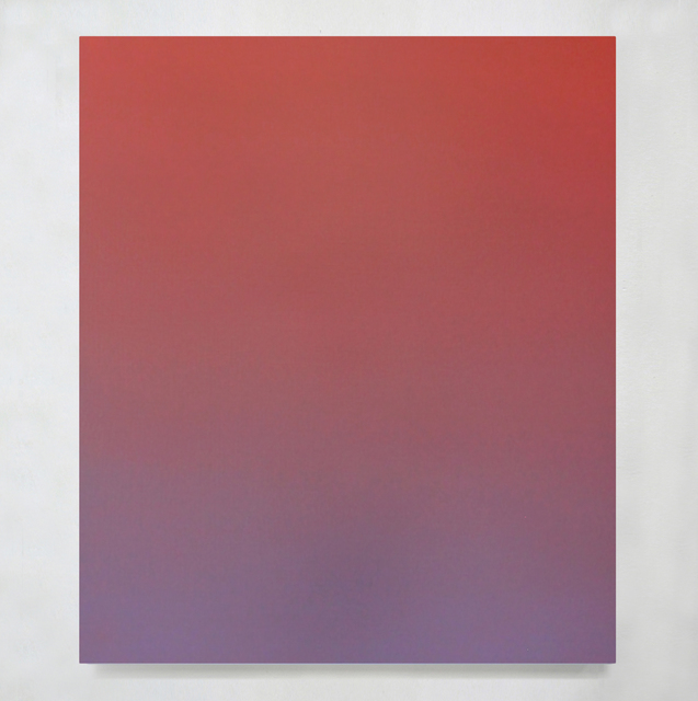 Ditte Ejlerskov, 'Dream Gradient 31', 2020, Painting, Acrylic and wax on canvas, Galleria Bianconi