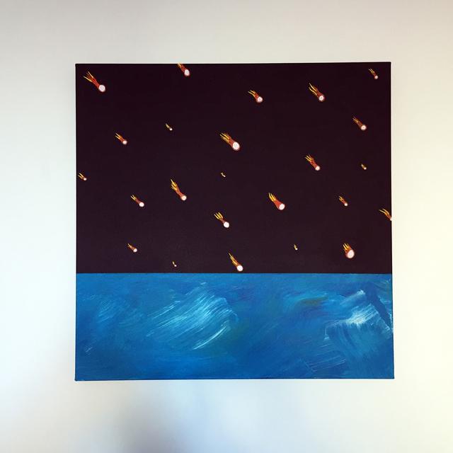 , 'The Night The Sky Fell,' 2017, Lawrence Alkin Gallery