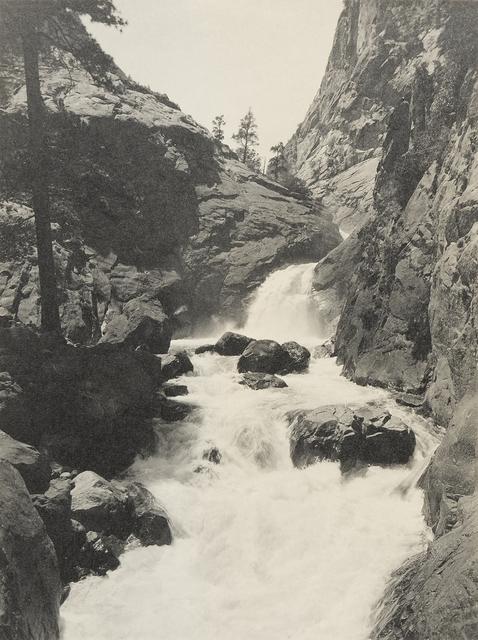 , 'Roaring River Falls,' ca. 1925, The Ansel Adams Gallery