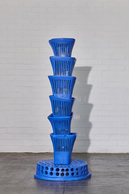 , 'Blue Fountain,' 2019, WHATIFTHEWORLD