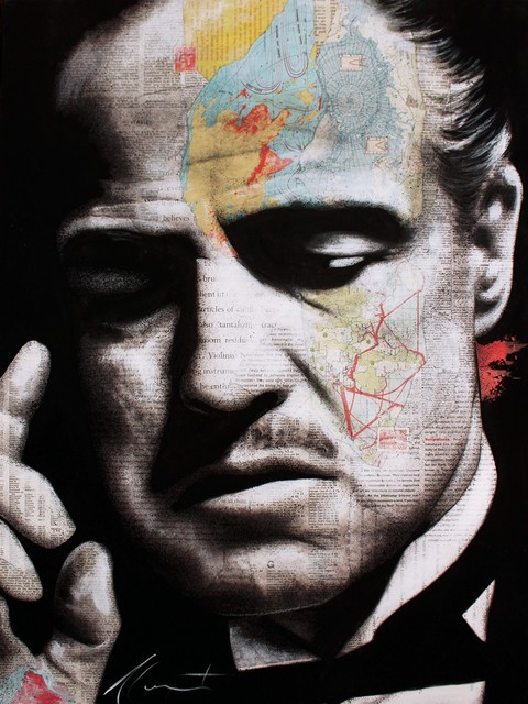 André Monet​, 'The Godfather ', 2019, Galerie de Bellefeuille