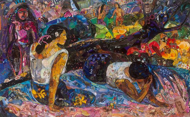 , 'Repro: Glyptoteket (Reclining Tahitian Women, Gauguin),' 2018, Rena Bransten Gallery