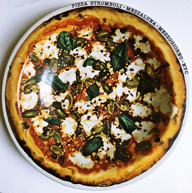 Ralph Goings, 'Pizza Stromboli Mezzalluna - Mezzogiorno - New York, NY', ca. 2000, Alpha 137 Gallery