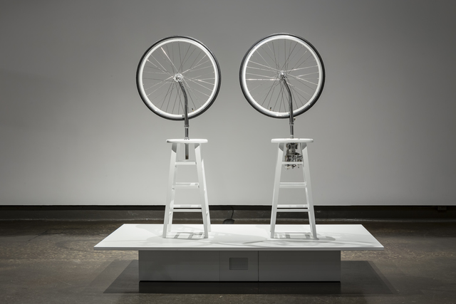 , 'nudging marcel,' 2014, Art Mûr