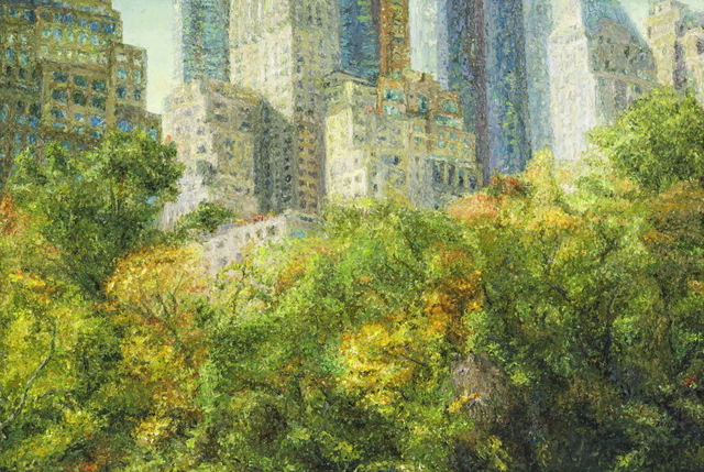 , 'Central park,' 2014, Leehwaik Gallery