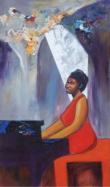, 'Aretha at Bohemian Caverns,' 2019, Zenith Gallery