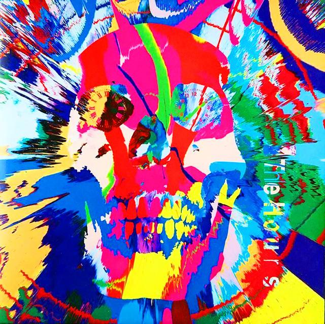 Damien Hirst, 'Rare original Damien Hirst vinyl record art (Damien Hirst skull art)', 2009, Lot 180