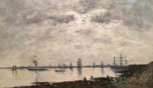 , 'Brest, bateaux dans la Rade,' , Daphne Alazraki Fine Art