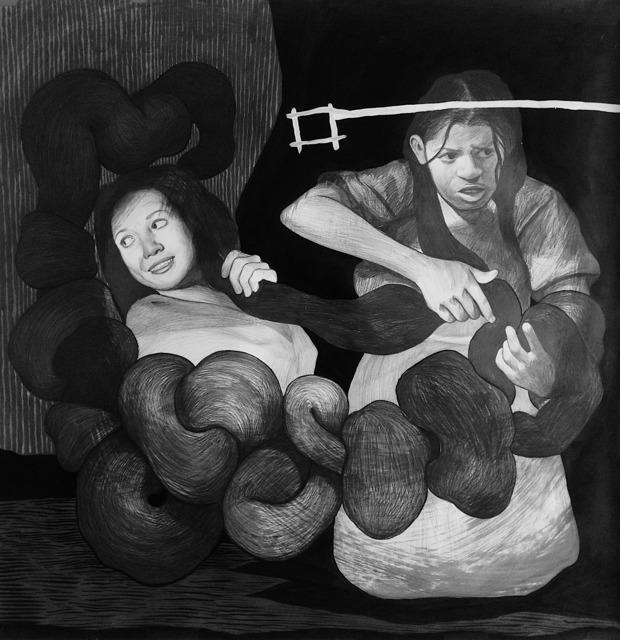 Hugo Crosthwaite, 'Tejedoras', 2018, Pierogi
