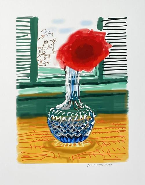David Hockney, 'iPad drawing 'No. 281', 23rd July 2010', 2019, Print, 8-color inkjet print on cotton-fiber archival paper, David Benrimon Fine Art