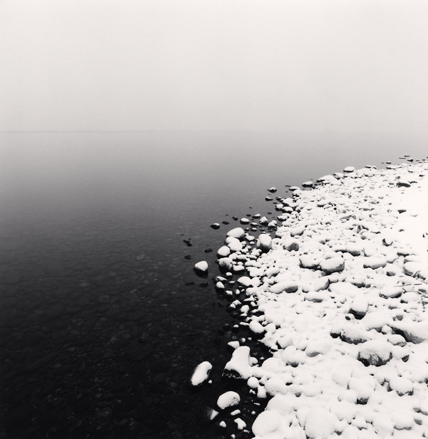 , 'Snow on Pebbles, Toya Lake, Hokkaido, Japan,' 2009, Patricia Conde Galería