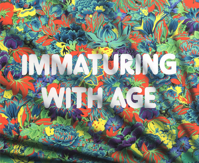 , 'Immaturing with Age,' 2018, River