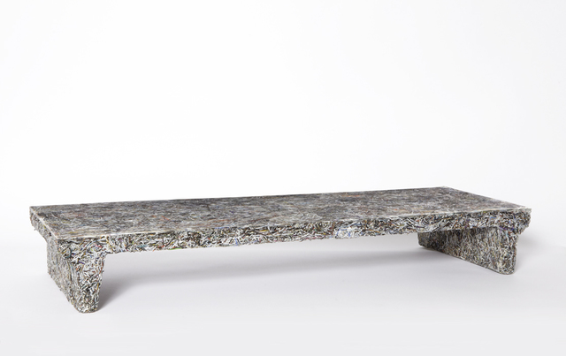 , 'Prototype 'Shredded' low table,' 2012, Sebastian + Barquet