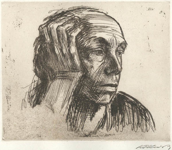 , 'Selbstbildnis (Self Portrait),' 1921, Childs Gallery