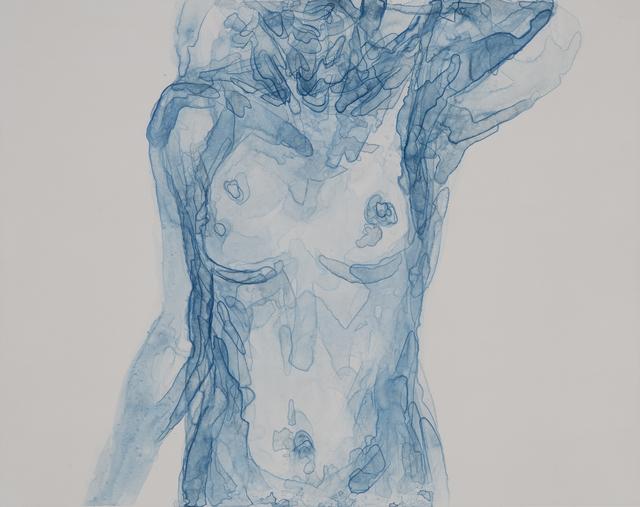 , 'Body in Blue I,' 2016, Warren Editions