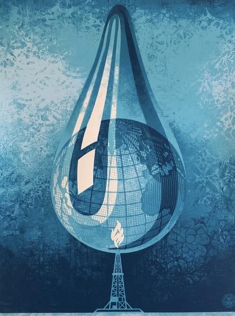 Shepard Fairey, 'Earth Crisis Drop', 2017, AYNAC Gallery