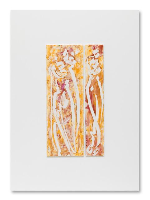 , 'Pensé Aquarelle pour Delacroix 1,' 2010, AB43 CONTEMPORARY