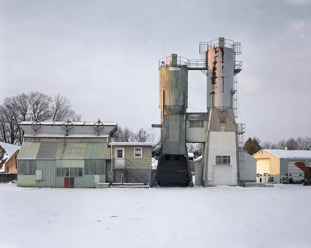 , 'Concrete, Sand and Gravel Plant, Livingston, New York, 2017,' 2017, Tracey Morgan Gallery