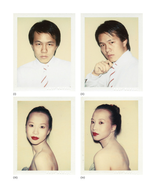 Andy Warhol, 'Four works: (i) Alfred Siu; (ii) Alfred Siu; (iii) Julianna Siu; (iv) Julianna Siu', circa 1982, Photography, Polacolor 2, Phillips