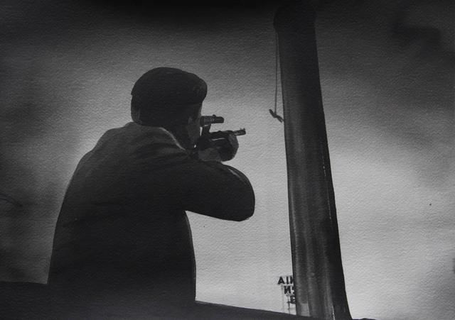 , 'L'Homme à l'affut, Edward Dmytryk  (The Sniper, 1952),' 2016, Galerie Les filles du calvaire
