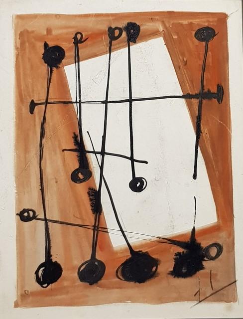 , 'Composition Abstraite,' ca. 1950, Galerie Marie-Robin